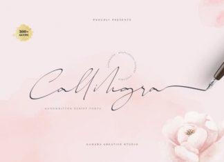 Callihgra Script Font