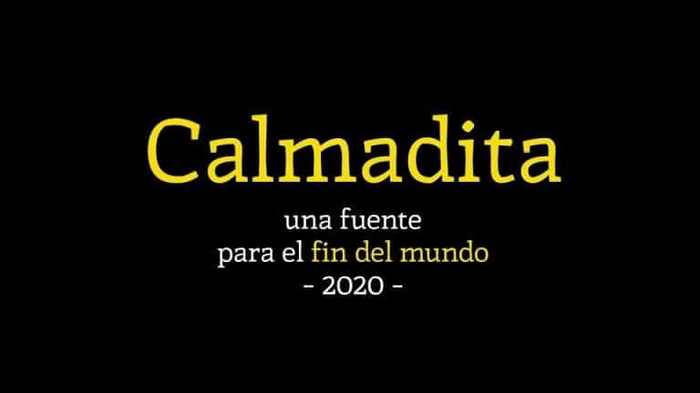 Calmadita Serif Font