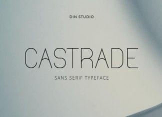 Castrade Sans Serif Font