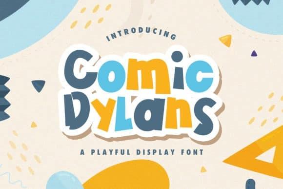 Comic Dylans Display Font