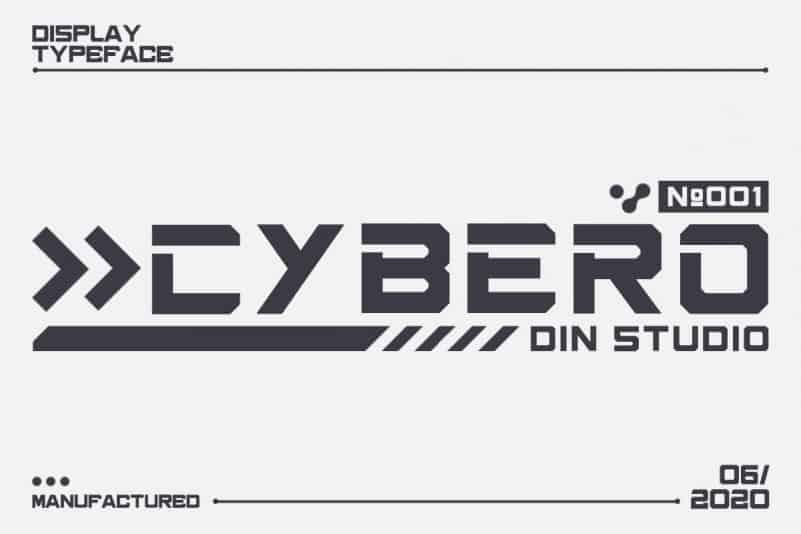 cybero Font