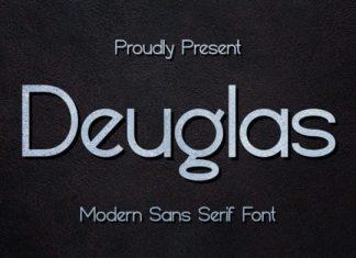 Deuglas Sans Serif Font