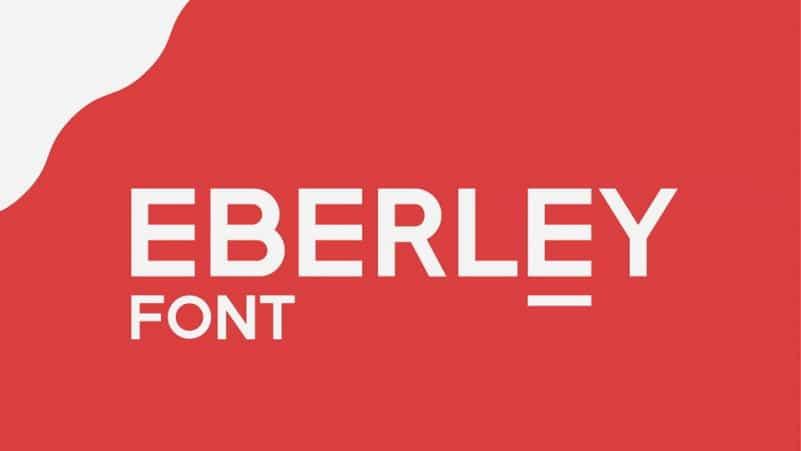 Eberley Sans Serif Font