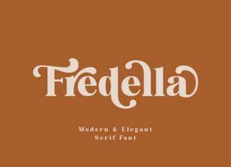 Fredella Serif Font