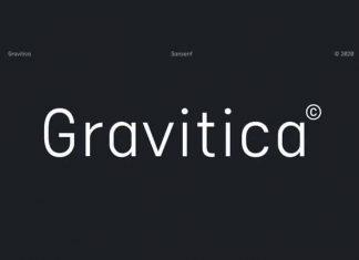 Gravitica Sans Serif Font