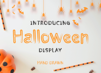 Halloween Display Font