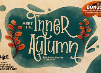 Inner Autumn Display Font