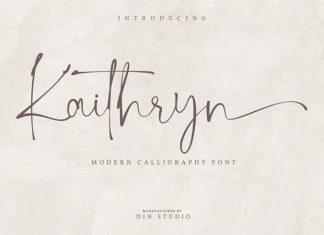 Kaithryn Script Font