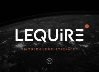 Lequire Display Font