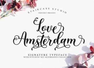 Love Amsterdam Calligraphy Font