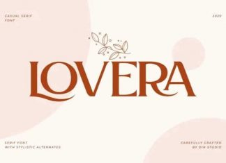 Lovera Serif Font