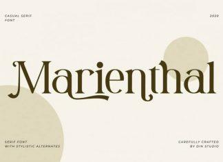 Marienthal Serif Font