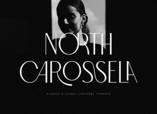 North Carossela Display Font