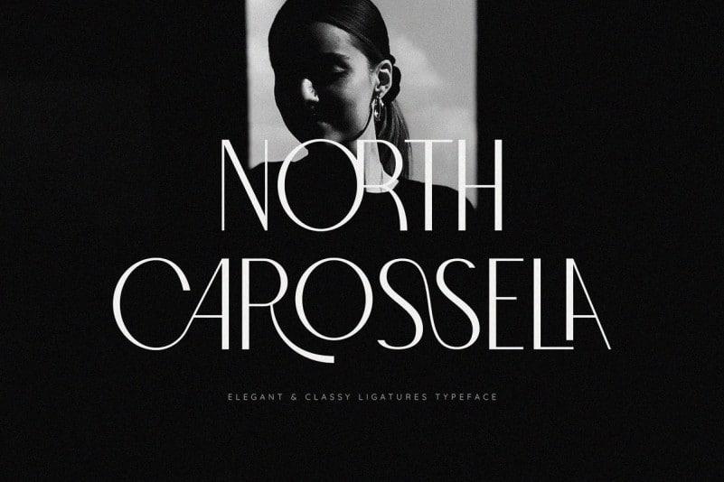 North Carossela Display Font