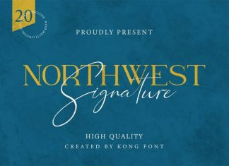 Northwest Signature Font Duo