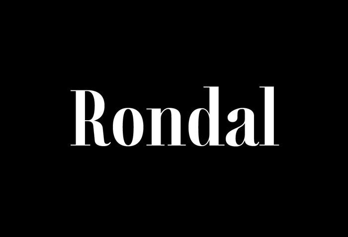 Rondal Serif Font