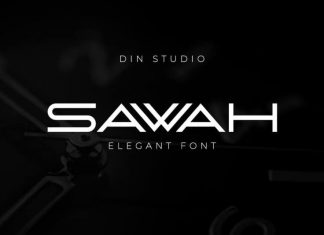 Sawah Display Font
