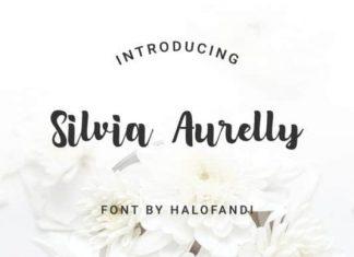 Silvia Aurelly Script Font