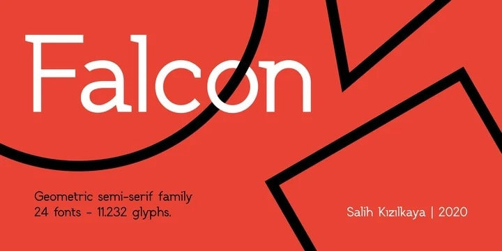 SK Falcon Sans Serif Font