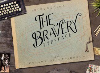 The Bravery Sans Serif Font