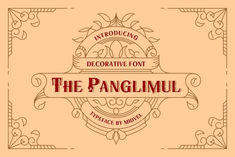 The Panglimul Display Font