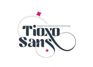 Tioxo Sans Serif Font