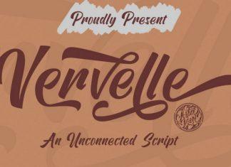 Vervelle Script Font