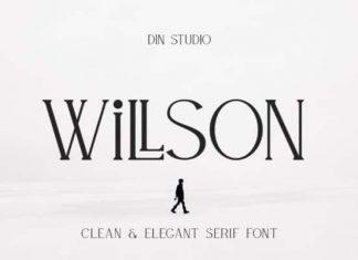 Willson Serif Font