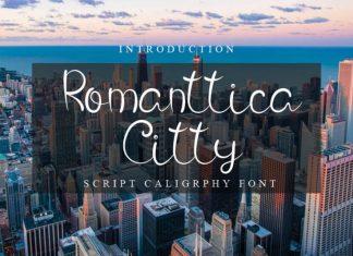 Romanttica Citty Script Font