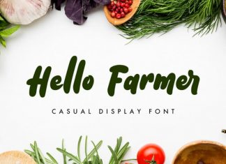 Hello Farmer Display Font