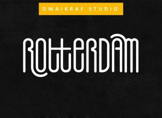 Rotterdam Display Font