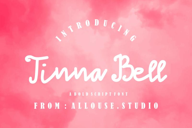 Tinna Bell Handwritten Font