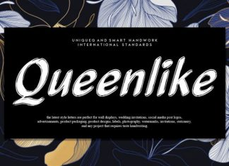Queenlike Script Font