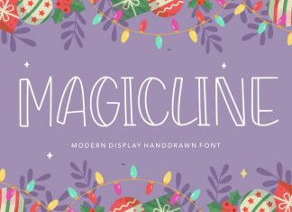 MAGICLINE Modern Display Handdrawn Font