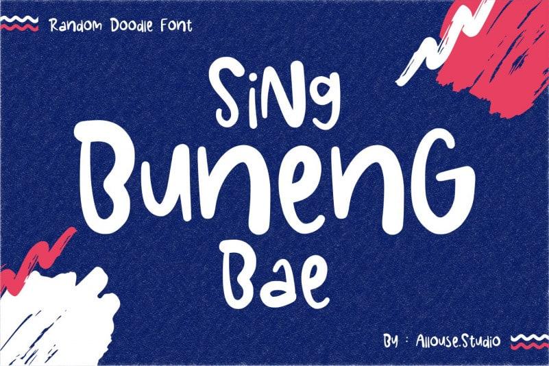 Sing Buneng Bae Font