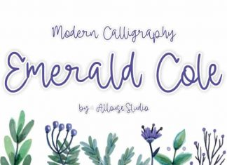 Emerald  Calligraphy Font