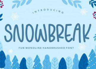 SNOWBREAK Handbrushed Font