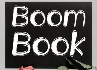 Boom Book Display Font