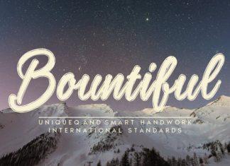 Bountiful Script Font
