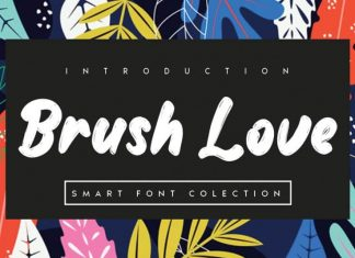 Brush Love Brush Font