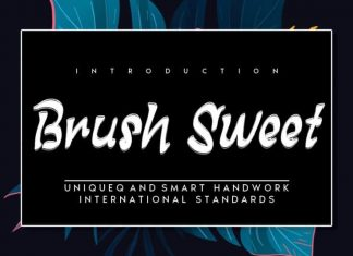 Brush Sweet Brush Font