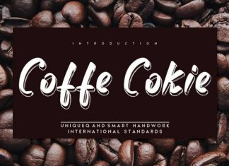 Coffe Cokie Script Font