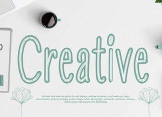 Creative Script Font