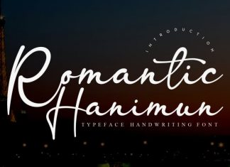 Romantic Hanimun Script Font