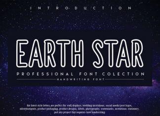 EARTHSTAR Display Font