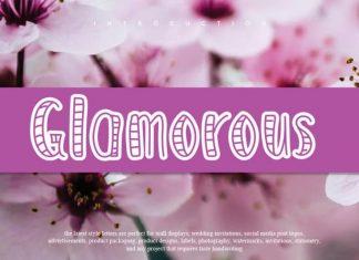 Glamorous Display Font