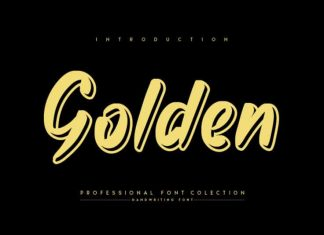 Golden Display Font