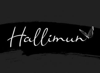 Hallimun Script Font