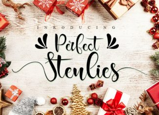 Perfect Stenlies Calligraphy Font