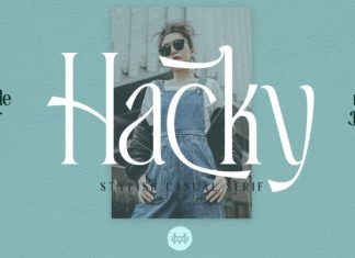 Hacky Serif Font